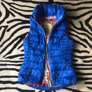 LiLLY PULiTZER Down DoubleZipper Allie Puffer Vest